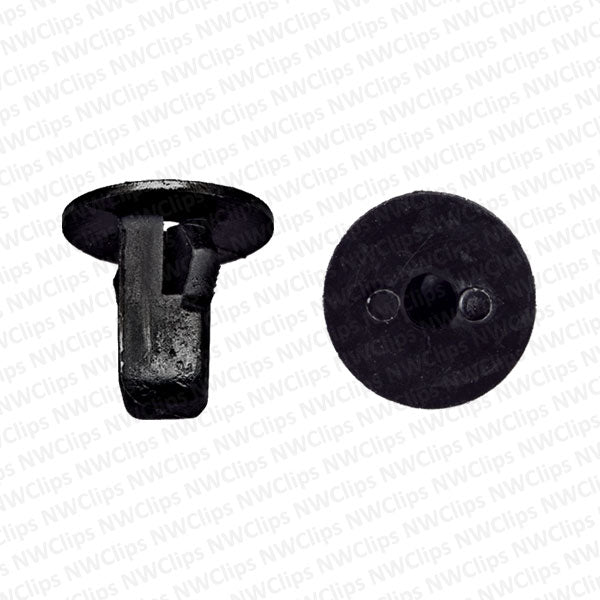 C22 - Fender Liner Black Nylon Grommet Clips for TOYOTA