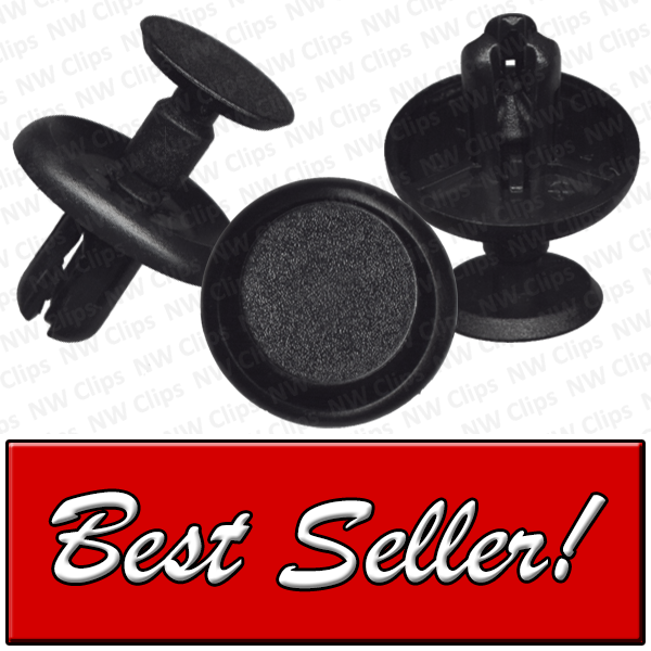8714-10569: C27 - Toyota, Scion, Lexus Grill & Radiator Black Nylon Clips