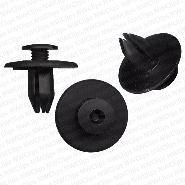 C66 - Subaru Compatible Fender Nylon Phillips Screw Head Clips