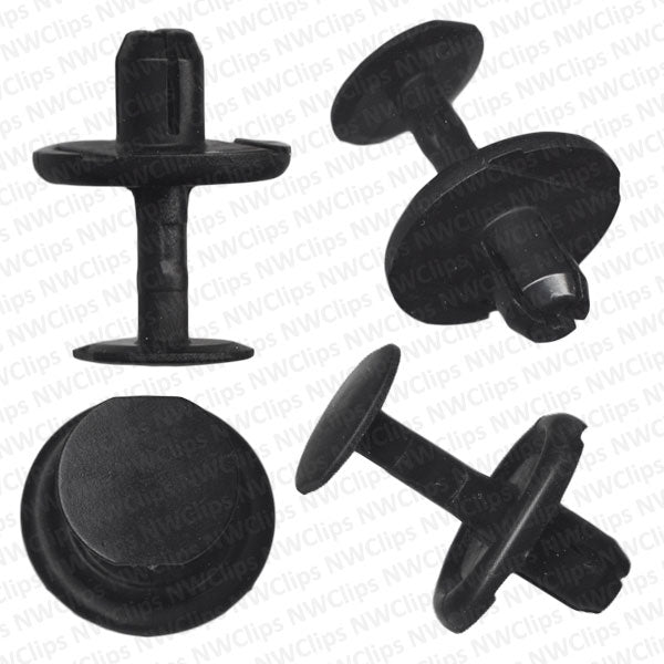 C84 - Toyota Grill & Radiator Black Nylon Push Type Clips