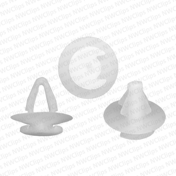 D38 - VW Door Panel Retainer Clips