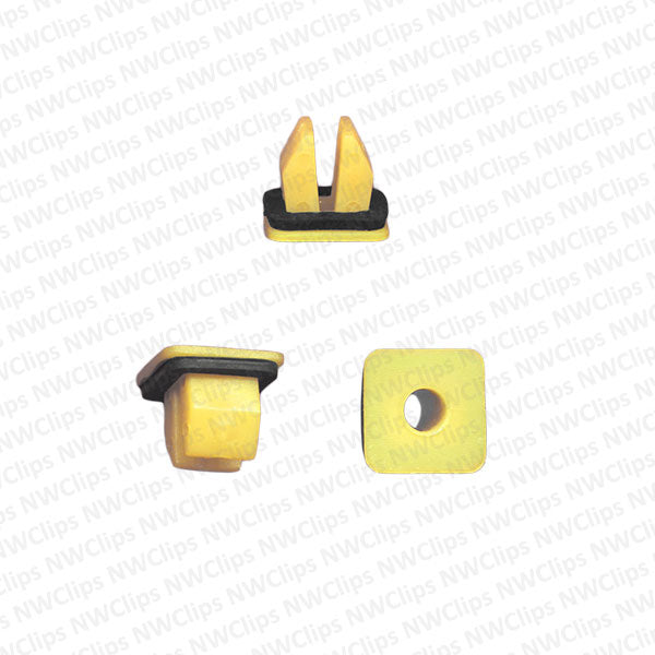 G08 - GM Bumper Natural Nylon Plastic Grommets - Qty. 50