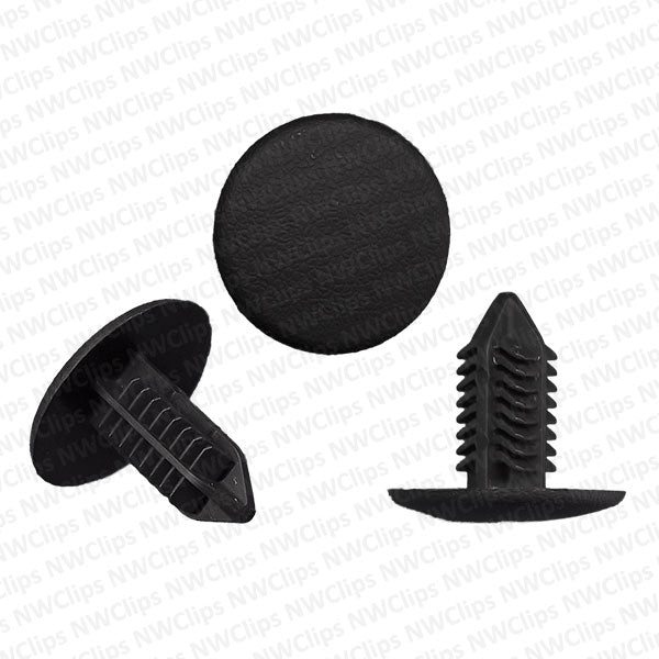 H12 - Subaru Trunk & Interior Lining Black Nylon Retainer Clips