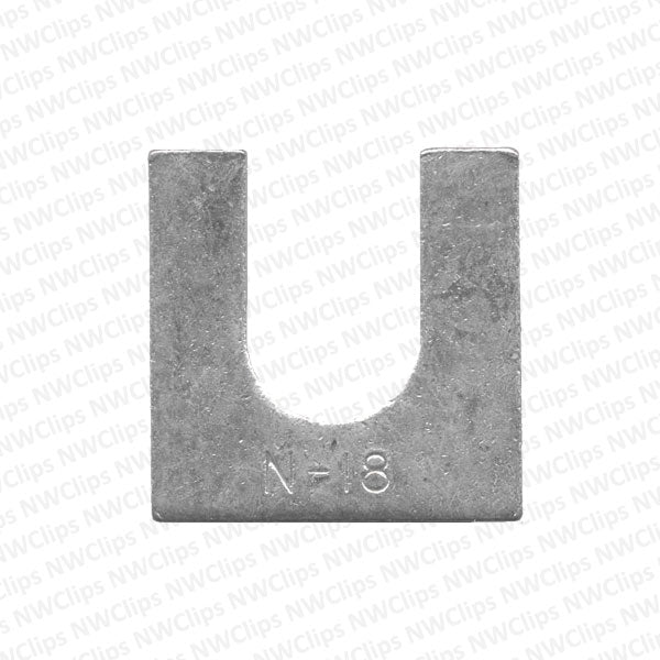 M06 - GM & Universal Use Bright Zinc Finish Steel Body Shims