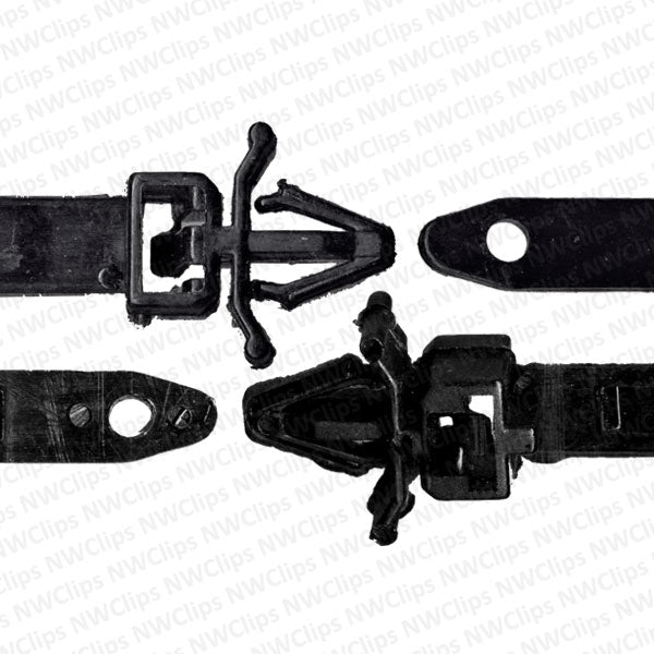 M08 - Honda & Mazda Universal Use Black Nylon Releasable Cable Straps