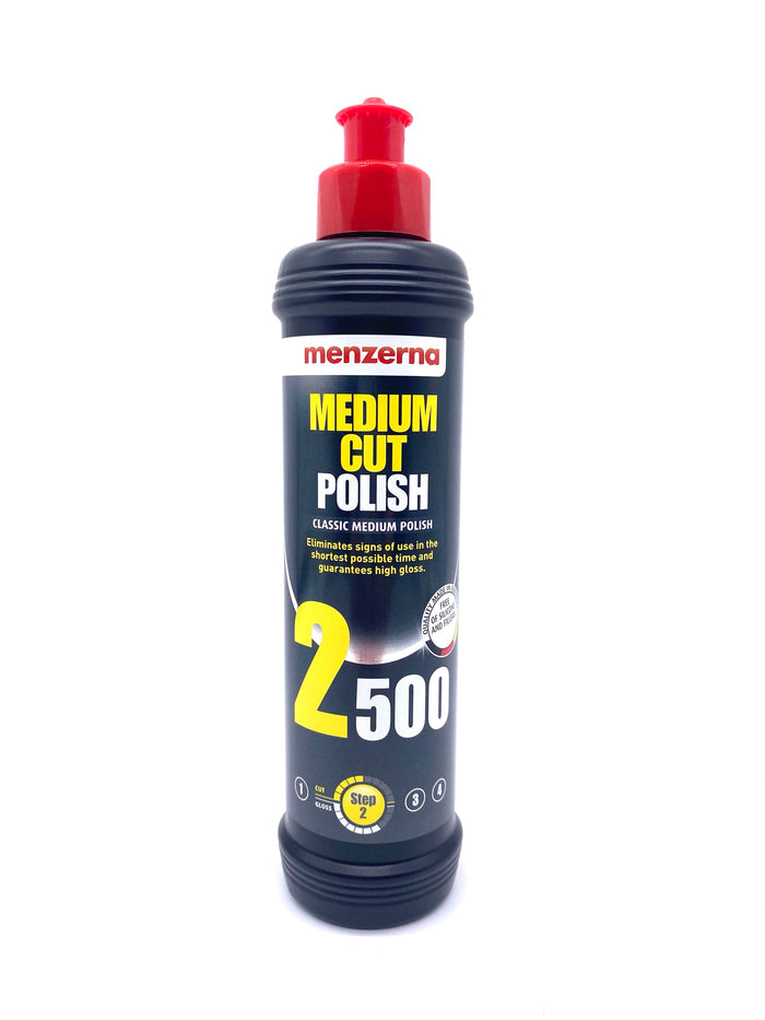 MENZERNA POWER FINISH MEDIUM CUT COMPOUND 2500 (8oz.)
