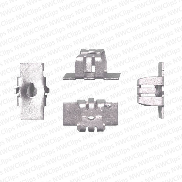 N01 - GM Fender Well, Door, Grill & Radiator #8 Screw Receptacle Nuts - Qty. 1