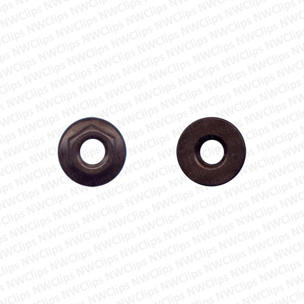 N05 - 8mm Hex Flange (Import Tail Light) Nuts - Qty. 50