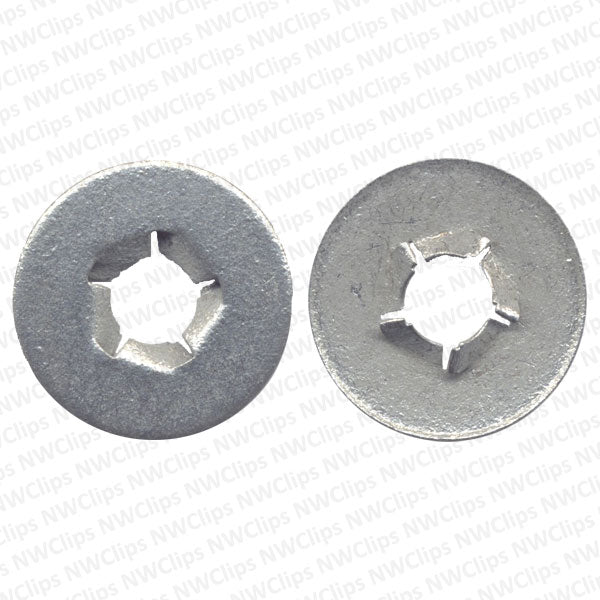 N06 - GM Bumper Dacromet Finish Bolt Retainer Washer/Nut - Qty. 1