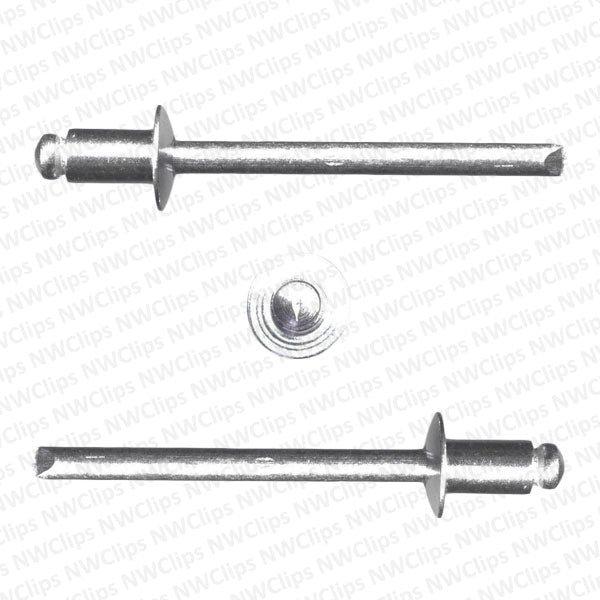 RA01899 - Universal Makes Universal Use   All Aluminum All Aluminum Pop Rivets - Qty. 100