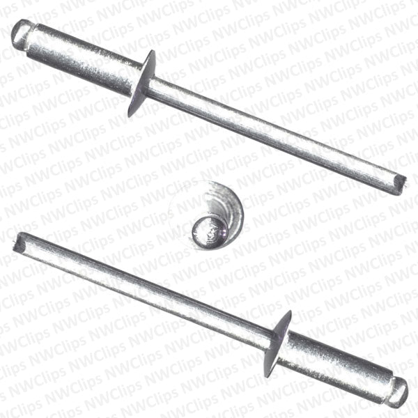 RA01901 - Universal Makes Universal Use   All Aluminum All Aluminum Pop Rivets - Qty. 100