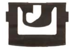 B9504 - Chrysler Windshield & Backlite Reveal Moulding Clips