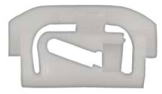 B985 - GM Chevrolet Windshield Reveal Moulding Clip