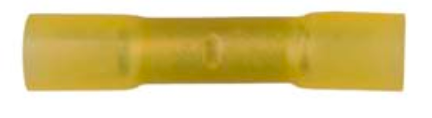 8674-2068: Yellow Butt Connector Crimp & Seal 12-10 Gauge -Qty. 10