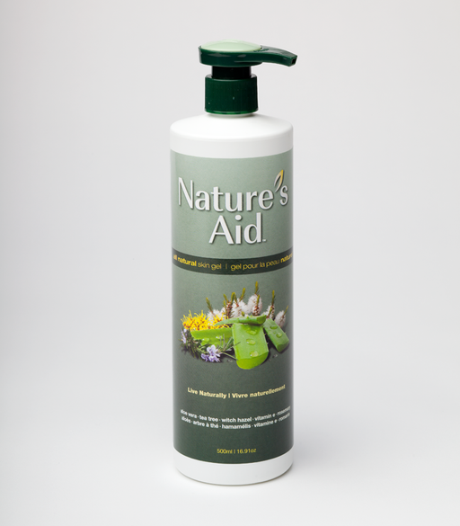 Nature's Aid Skin Gel 500ml
