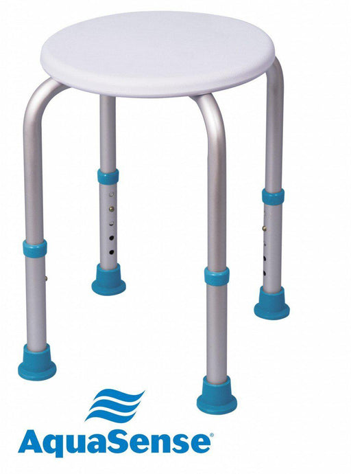 AquaSense Adjustable Shower Stool