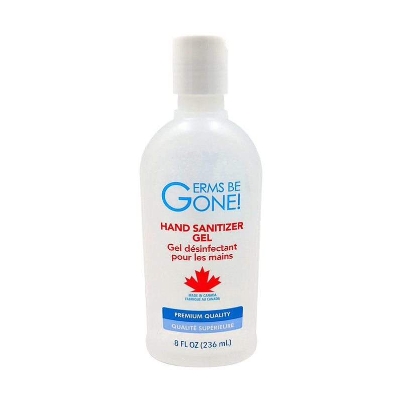 Germs Be Gone Hand Sanitizer 65% 236ml (8oz)