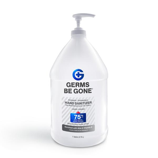 Germs Be Gone Hand Sanitizer Gel 75% (Various Sizes)