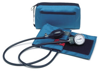 Color Pro Aneroid Sphygmomanometer Kit Teal
