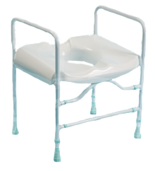 Prima Multi-Frame Heavy Duty Toilet Seat with arms
