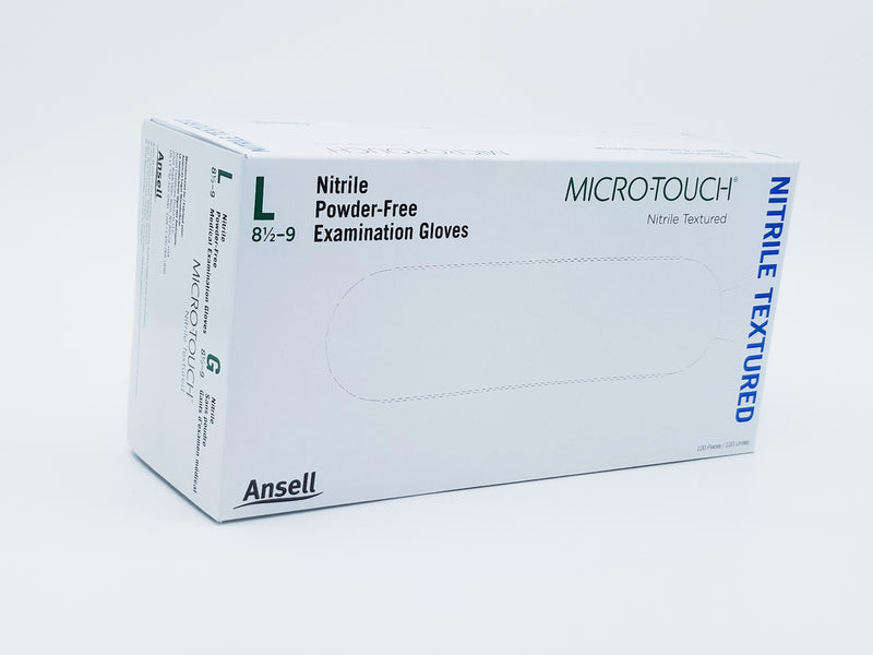 Ansell Micro-Touch Nitrile Examination Gloves