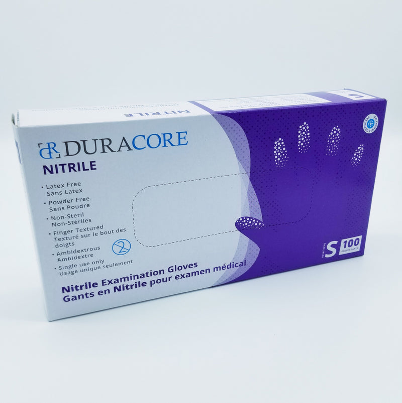 DURACORE Nitrile Examination Gloves