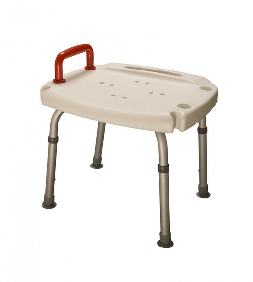 Shower seat with Red Handle