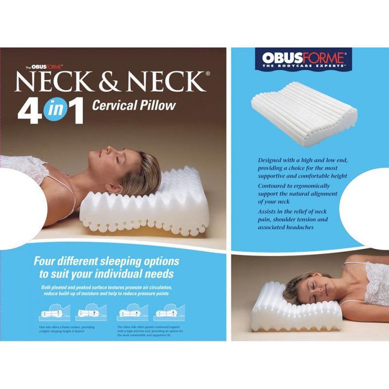 Neck & Neck 4 in 1 Cervical Pillow