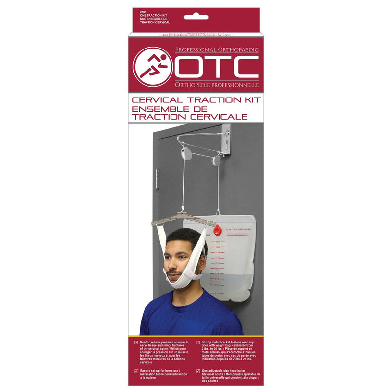 Over Door Head Halter Cervical Traction Kit