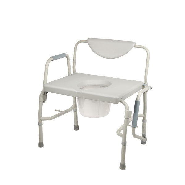 Bariatric Drop Arm Bedside Commode Chair  11135-1