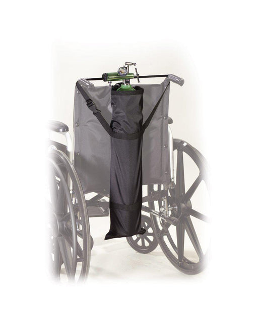 Wheelchair Carry Pouch for Oxygen Cylinders  stds6008-1
