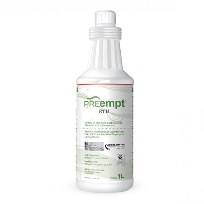 PREempt RTU Disinfectant Solution 1L