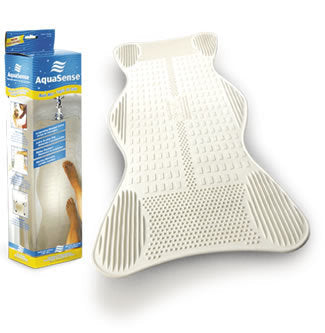 AquaSense Bath Mat with Invigorating massage zone