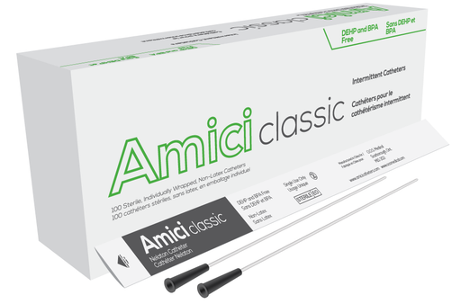 AMICI Classic Male Intermittent Catheter 100/Box