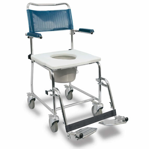 MedPro Euro Commode with flip-up armrests