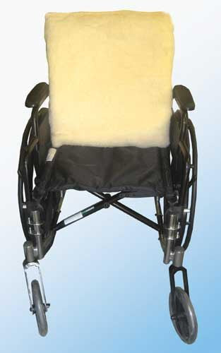 Fleece Wheelchair Back Cushion