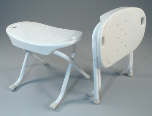 SpaceSaver™ Foldable Bath Bench