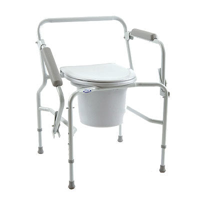 Invacare® Drop-Arm Commode