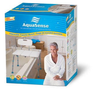 AquaSense Adjustable Transfer Bench