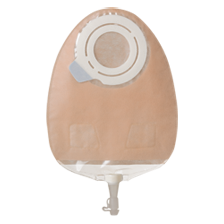 "11822 SenSura® Flex 2pc.  Urostomy Pouch Midi, Opaque, with filter 50mm Red, midi 24cm (9 1/2""), 20/BX"