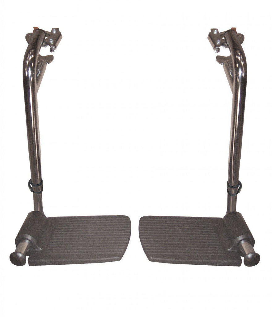 "Swing Away Footrests for Sentra EC 16"", 18"" and 20"" Wide Wheelchairs  pstdsf-tf"