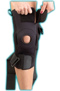 MedSpec AKS Knee Support With Plastic Hinges