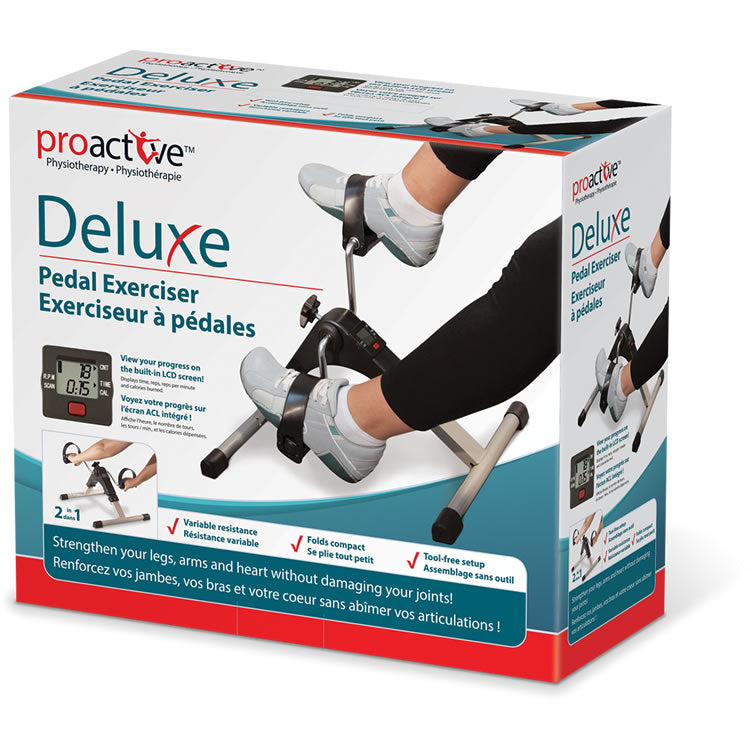 Deluxe Pedal Exerciser w/Digital Display
