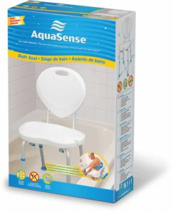 Aquasense Bath Seats with Backrest