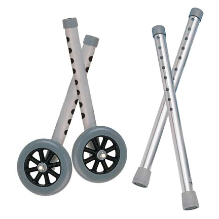 "Extended Height 5"" Walker Wheels and Legs Combo Pack  10108wc"