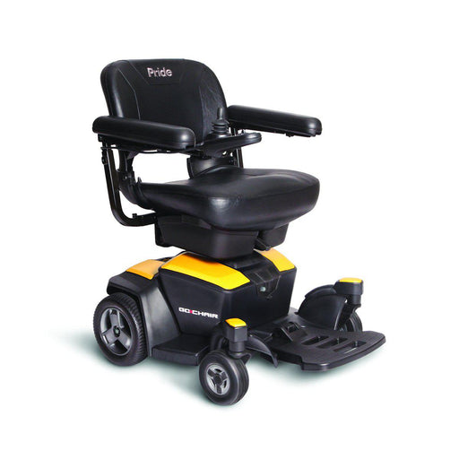 Pride Go-Chair Compact Power Chair citrine yellow