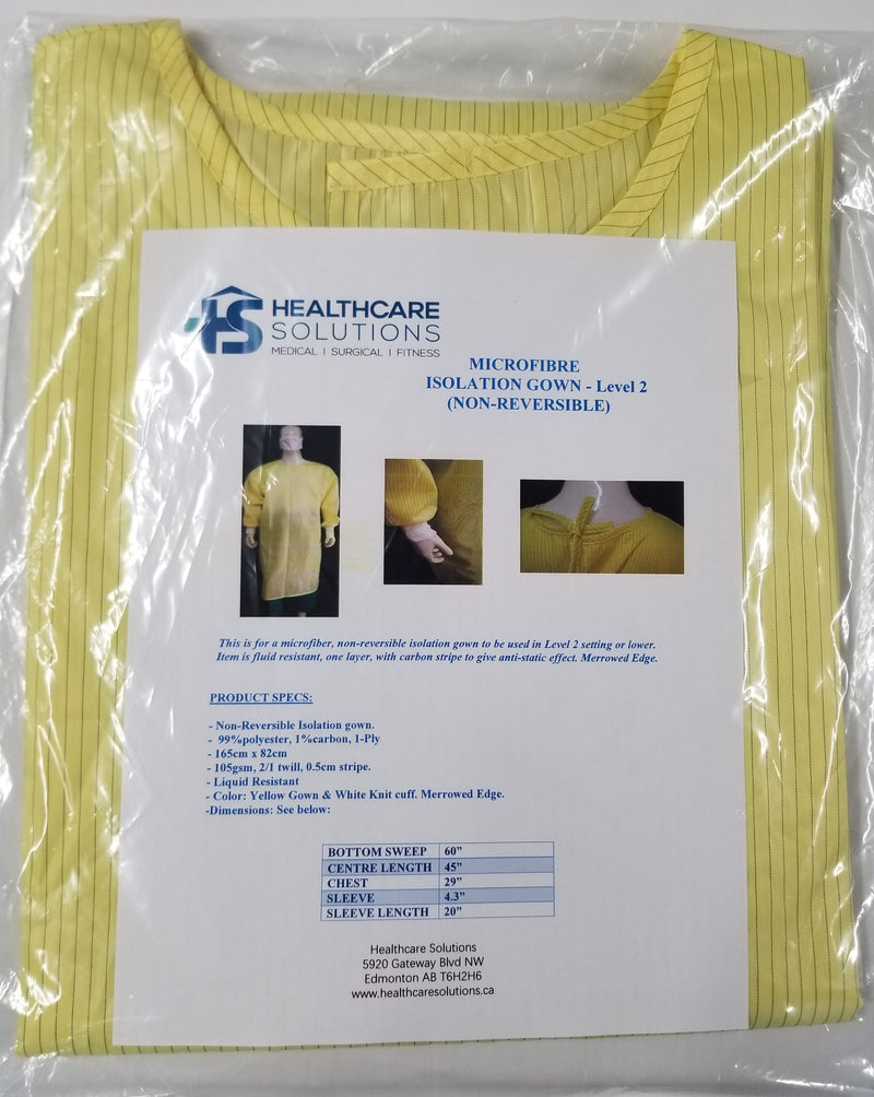 Reusable Isolation Gown - Level 2