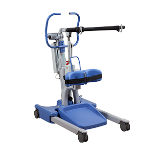 Hoyer Elevate Professional Patient Lift Sit-to-Stand with Scale, Electric Base 440lb Capacity