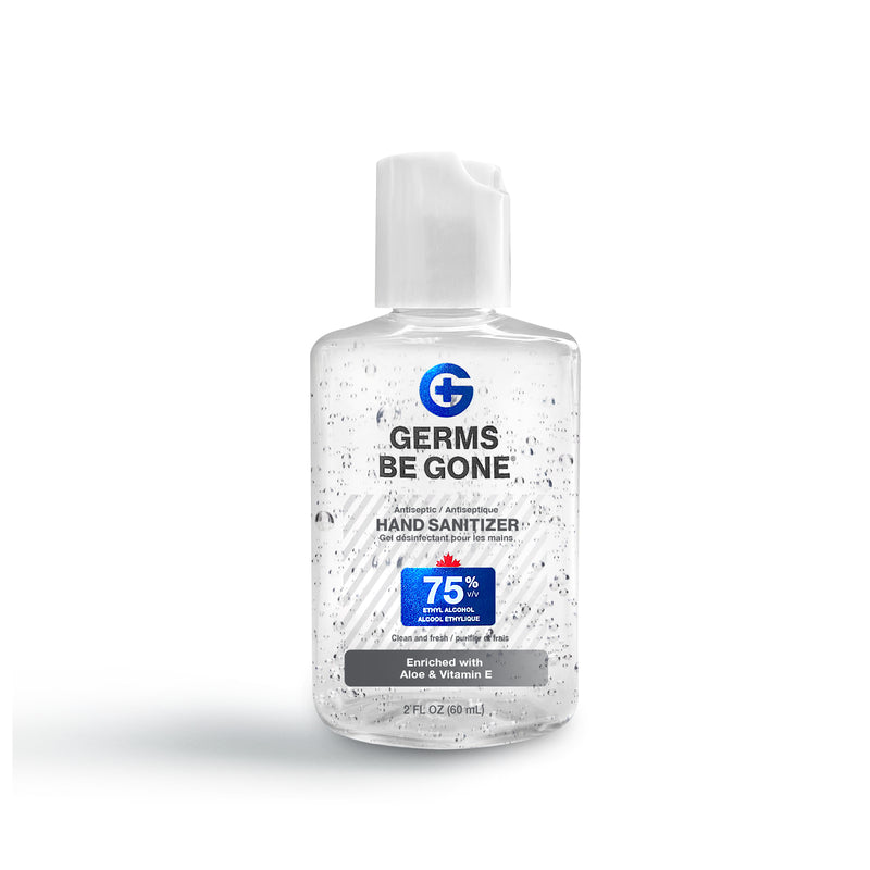 Germs Be Gone Hand Sanitizer 75% 59ml, Flip Cap