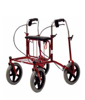 Human Care Carl Oskar Rollator - Reinforced Heavy Duty